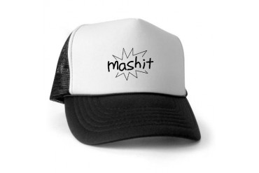 Mashit Record Trucker Hat by CafePress