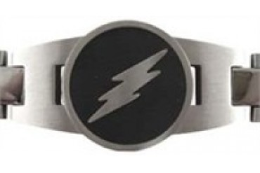 DC Comics Flash Logo Stainless Steel Bracelet
