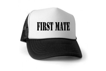 First Mate Hobbies Trucker Hat by CafePress