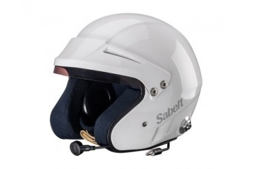 Sabelt Helmet Series RH-310 Snell SA2010 Rated with Intercom White - XXL