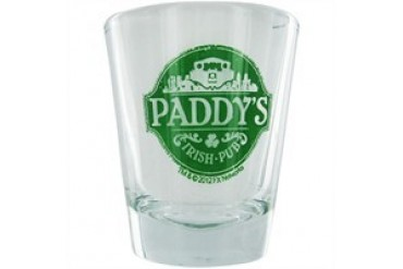 It's Always Sunny in Philadelphia Paddy's Irish Pub Shot Glass