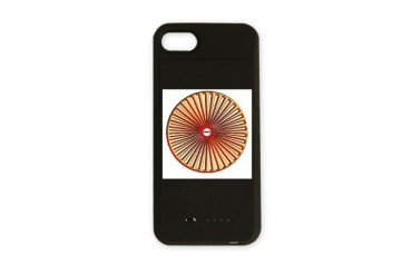 WWBDwheel.jpg Funny iPhone Charger Case by CafePress
