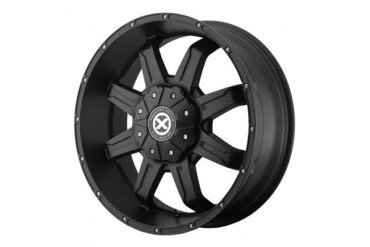 ATX Wheels AX192, 17x8.5 with 6 on 135 and 6 on 5.5 Bolt Pattern - Black AX19278567718 ATX Wheels