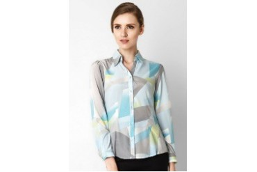 Accent Terry Basic Printed Shirt