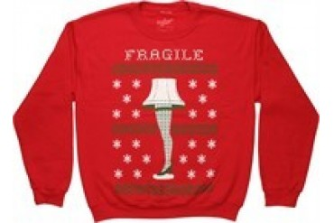 A Christmas Story Fragile Leg Lamp Sweatshirt