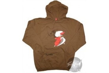 Inuyasha Sword Brown Hooded Sweatshirt