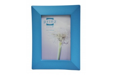 4 x 6 Inch Blue Vibrance Metal Picture Photo Frame Prinz