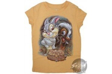 Disney Bambi's Thumper and Fower Girls Youth T-Shirt