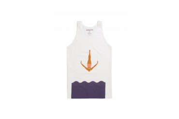 Mens Ambsn Tank Tops - Ambsn Sunset Tank Top