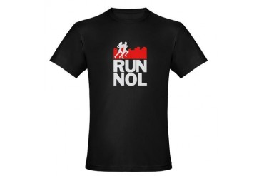 RUN NEW ORLEANS Organic Men's Fitted T-Shirt dark Sports Organic Men's Fitted T-Shirt dark by CafePress