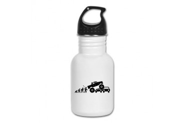 Monster Truck Sports Kid's Water Bottle by CafePress
