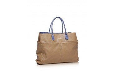 Concorde Camel Leather Tote
