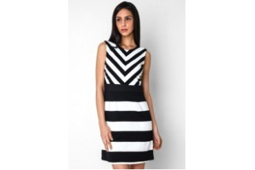 Urban Twist Playfull Stripe Dress