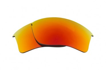 New SEEK Replacement Lenses Oakley FLAK JACKET XLJ Asian Fit - Red