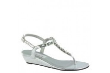 Dyeables Shoes - Style Myra Silver Metallic 34514
