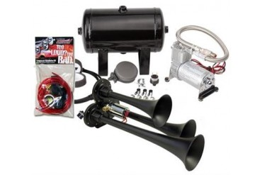 Kleinn Train Horns Complete triple air horn package with 130 psi sealed air system HK3-1 Kleinn Complete Kits