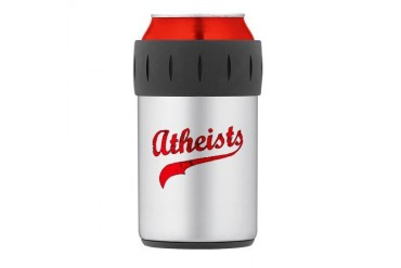 Atheists Thermos Can Cooler Religion Thermosreg; Can Cooler by CafePress
