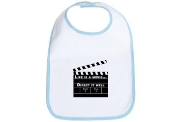 Life is a movie - Art Bib by CafePress
