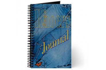 Rhoers Denim School Journal by CafePress