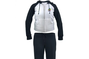 Sex Drugs And Rugby Vintage Women's Tracksuit by CafePress