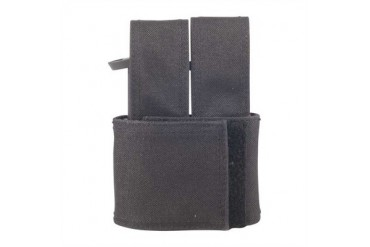 Injected Molded Double Mag Pouches - Injected Molded Double Mag Pouch Black S&W M&P