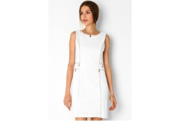 Urban Twist All Over Zip Mini Dress