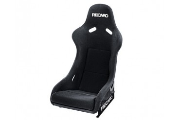Recaro Pole Position Seat Black VelourBlack Velour White Logo