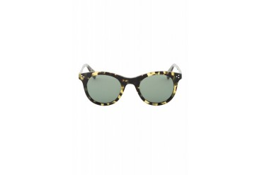 Garrett Leight Green Spotted Tortiose Mark Mcnairy Edition Apex Glasses