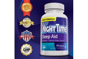 Genetic Solutions NightTime Sleep Aid - 60 Capsules