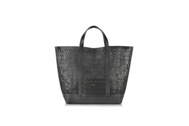 Le Cabas Large Perforated Leather Tote