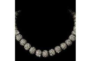 Elegance By Carbonneau Necklaces - Style N1001-BlackDiamond