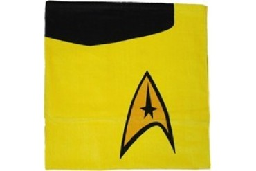 Star Trek Captain Kirk Yellow Command Towel