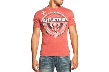 Affliction T-shirt - Affliction Builders Union Crewneck T-shirt