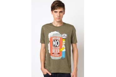 The Simpsons @ urban TEE Can't Function Without Beer Homer Tee