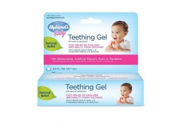 Homeopathic Baby Natural Relief Teething Gel - 0.5 Ounce, 2 Pack