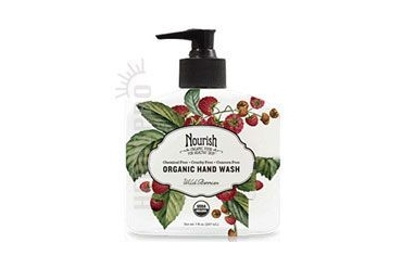 Organic Hand Wash Wild Berries 7 OZ