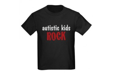 Autistic Kids Rock - Kids Dark T-Shirt