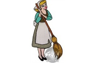Disney Cinderella Sweeping Patch