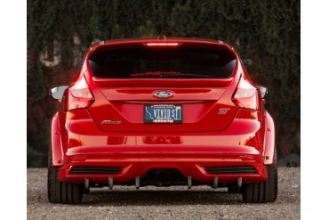 Agency Power Carbon Fiber Rear Diffuser Under Tray Ford Focus ST 2013