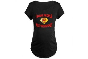 Pregnant Power Maternity Dark T-Shirt