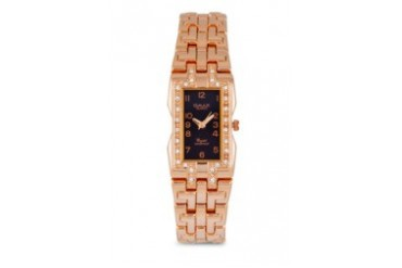 Omax JHS4326RS Alloy Rose Gold Watch