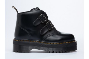Dr. Martens Devon in Black Polished size 10.0