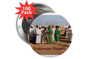 Sudanese People Title Nature 2.25 Button 100 pack by CafePress