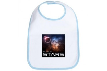 Its Full of Stars Space Bib by CafePress