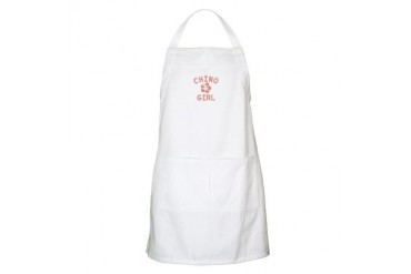 Chino Pink Girl California Apron by CafePress