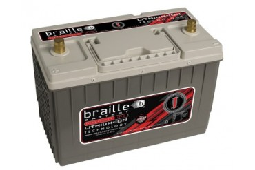 Braille Lithium Ion Intensity Starting Battery 2910 Amp 13 x 7 x 9 inch Left Positive BCI 31