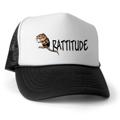 Nat'l Westie Rescue Misc  Ite Rat Trucker Hat by CafePress
