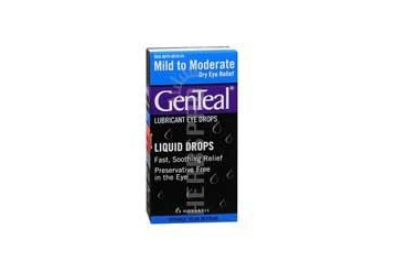 Genteal Lubricant Eye Drops Mild To Moderate 0.5 oz