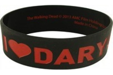 Walking Dead I Love Daryl Rubber Wristband