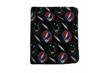 Grateful Dead Steal Your Face Space Your Face 50 X 60 in. Throw Blanket